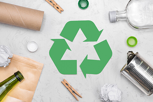 Image of Recyclable items